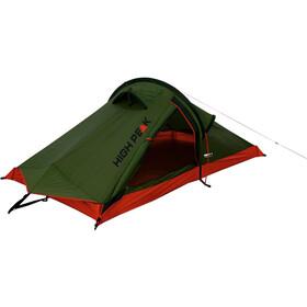 High Peak Siskin Tent Pesto/Red